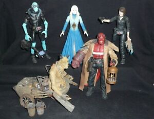 HELLBOY The Golden Army/ANGEL OF DEATH  6X figurines lot