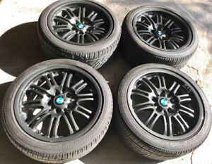 BMW 3 Series All season Rims and tires