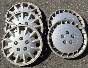 "Free 15"" hubcaps to a good home"