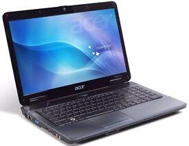 ACER 5532 / AMD 1.60 GHz / 3 GB Ram / 250 GB HDD/RADEON HD 3200 / WIRELESS/ WINDOWS 7
