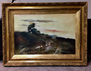 Antique Oil Painting, 1905