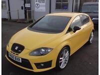2010 (60) SEAT Leon 2.0 TSI Cupra R Yellow
