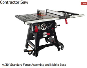 SAVE YOUR FINGERS! The SAFE table saw