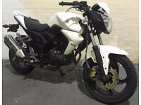 2016 66 SYM PU WOLF 125 N WHITE LEARNER LEGAL PROJECT/TRADE SALE HPI CLEAR 1.6K