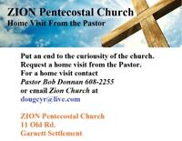 Zion Pentecostal Church we're here for our community