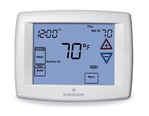 Emerson 1F97-1277 Touchscreen 7-Day Programmable Thermostat