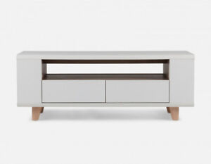 ✿NEW...Beautiful STRUCTUBE Chelsa White Media Unit!
