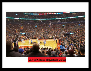 =TORONTO RAPTORS Tickets:Lower Bowl. ROW 15! Amazing Close View=