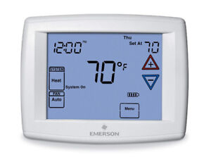 Emerson 1F95-1277 Touchscreen 7-Day Programmable Thermostat