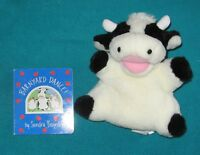 Barnyard Dance Cardboard Style and Holstein Cow Hand Puppet