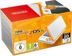 New Nintendo 2DS XL (White/Orange) (Nintendo 3DS)