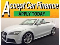 Audi TT Roadster 2.0 TFSI ( 208bhp ) Roadster 2012MY S Line FROM £77 PER WEEK