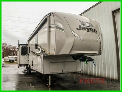 2018 Jayco Eagle 336FBOK Bath & Half Fifth Wheel Camper RV NADA 5th Jacks Slides