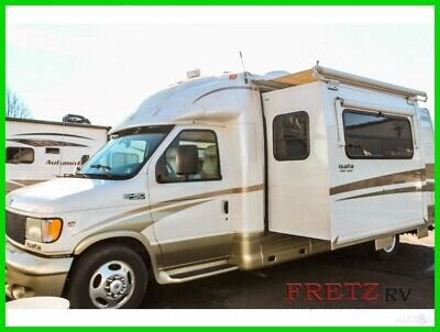 2003 Dynamax Isata Class B Motorhome RV Slide NADA Very Clean Satellite Ford