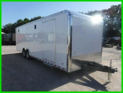 8.5 x 28 28ft Drag Race Car Hauler Dirt Motorsports Enclosed Cargo Trailer DFW