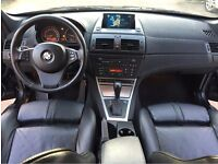 LHD LEFT HAND DRIVE BMW X3 3.0 D AUTOMATIC 4X4 BLACK FULLY LOADED IMMACULATE LOW MILEAGE