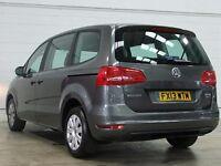 PCO car hire, MPV 7-Seater VW Sharan Seven Seater, Uber UberXL ready