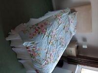 single bed , headboard , mattress