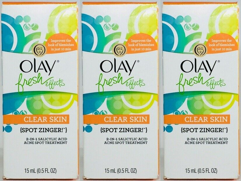 Olay Clear Skin Fresh Effects Spot Zinger Exp 10/17