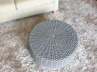 Next grey coffee table - Brand new - circular