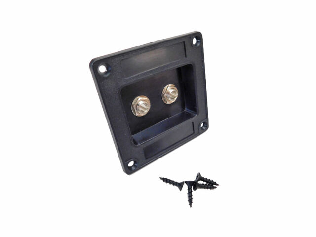 Recessed Dish Speaker Cabinet Jack Plate Two Switchcraft #11's ...