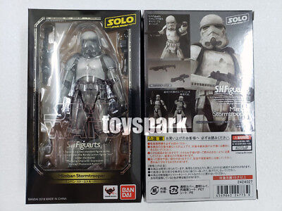"""BANDAI S.h. figuarts Solo a Star Wars Story MIMBAN STORMTROOPER 6"""" action figure"""