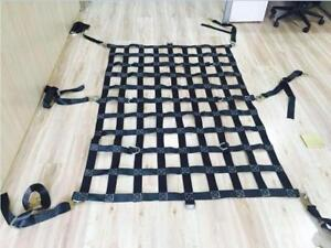 NEW HEAVY DUTY CARGO NETTING 48X42 STRAP CARST AS LOW AS $49.95 RIGGING HARDWARE
