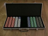 500 chip poker set