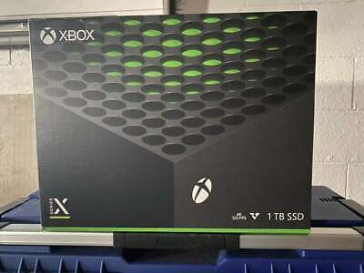 Microsoft Xbox Series X 1TB Console - Brand new, factory sealed