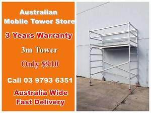 Double 3M Mobile Tower On Sale Now!!! $910 ONLY Maidstone Maribyrnong Area Preview