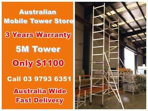 5.0m Aluminium Scaffold Alloy mobile tower Australian Standard Dandenong South Greater Dandenong Preview