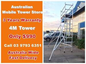 ONLY $900!! Aluminium 4M Mobile ToweR Scaffolding Painting!!! Maidstone Maribyrnong Area Preview