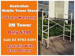 2.0m Aluminium Scaffold Alloy mobile tower Australian Standard Dandenong South Greater Dandenong Preview