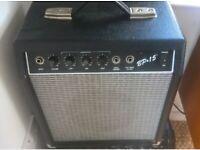 Fender/Squier BP15 Bass (or Guitar) Amplifier Amp Combo
