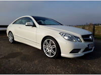 MERCEDES BENZ E350 CDI SPORT COUPE AMG PACK,,AUTO BLUE EFFICIENCY STUNNING!!!