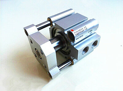 New Cqmb32-5 Pneumatic Guide Rod Double Acting Compact Air Cylinder Smc Type