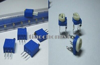 Potentiometer Trimpot Variable Resistor 3296 Resistor Assortment Kit 70pcs