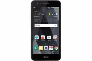 UNLOCKED Brand New Pentaband LG K8 (2017) Compatible with Freedom Chatr CityFone Fido Virgin Bell Rogers Vidéotron