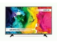 "Lg 55"" smart 4k tv"