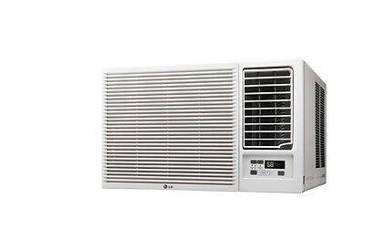 LG LW8016HR - 8,000 BTU 110V Window A/C w/ Heat: Remote & Window Vent Kit Incl.