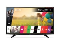 L.G / lg 43 inch smart tv brand new unboxed