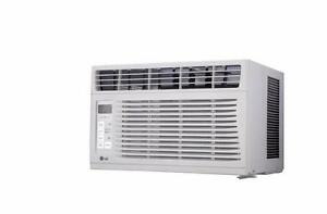 Climatiseur de fenêtre de 6 000 BTU LG ( LW6016R )