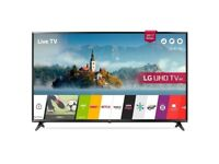 """LG 43"""" UHD 4K HDR SMART TV with built-in freeview"""