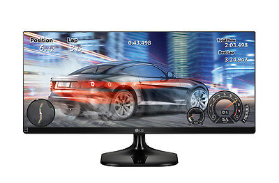 شاشة ليد  LG 25 Inch Class 21:9 UltraWide® Full HD IPS LED Monitor – 25UM58-P