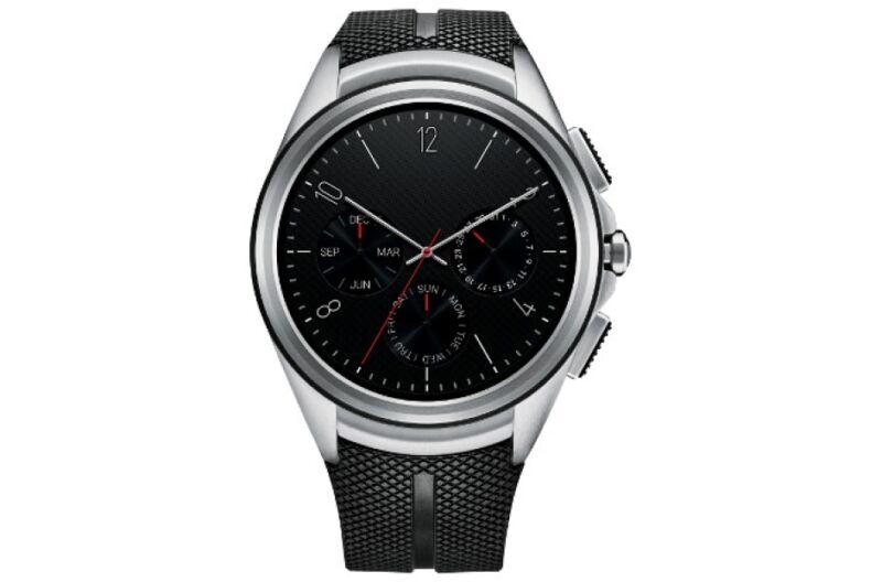 LG Urbane 2nd Edition 4G LTE LG W200A Black Unlocked GSM Android Smartwatch N/O