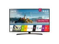 "49"" LG ULTRA HD 4K TV HDR warranty Sep 2018 not a mark on it NO NONE OFFERS!"