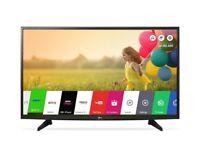 "*PERFECT AS NEW* LG 49"" 49LH570 SMART TV LED FULL HD / WiFi / Netflix / iPlayer / Freeview HD"