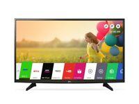 LG 49'' FULL HD SMART SLIM LED TV, WiFi, FREEVIEW HD, FREESAT HD