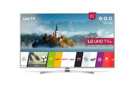 """LG 65UJ701V 65"""" Ultra HD 4K Smart TV with Wifi & WebOS & Freeview/ Freesat HD"""