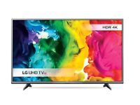 lg 55uf770v led smart 4k hdr . new condition. wifi build in